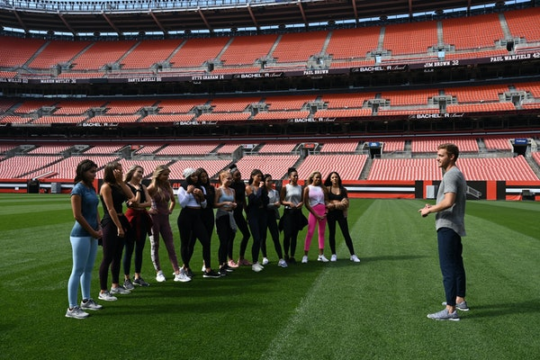 Peter Weber and the ladies on 'The Bachelor' in Cleveland