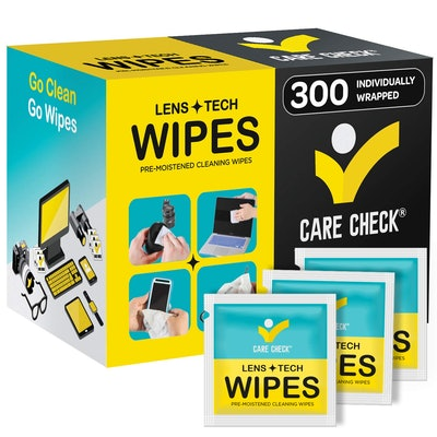 Care Check Lens Wipes (300-Pack)