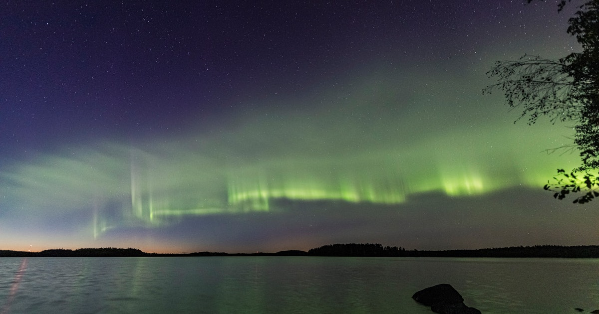 Northern Lights: Stunning time-lapse video captures newly discovered aurora
