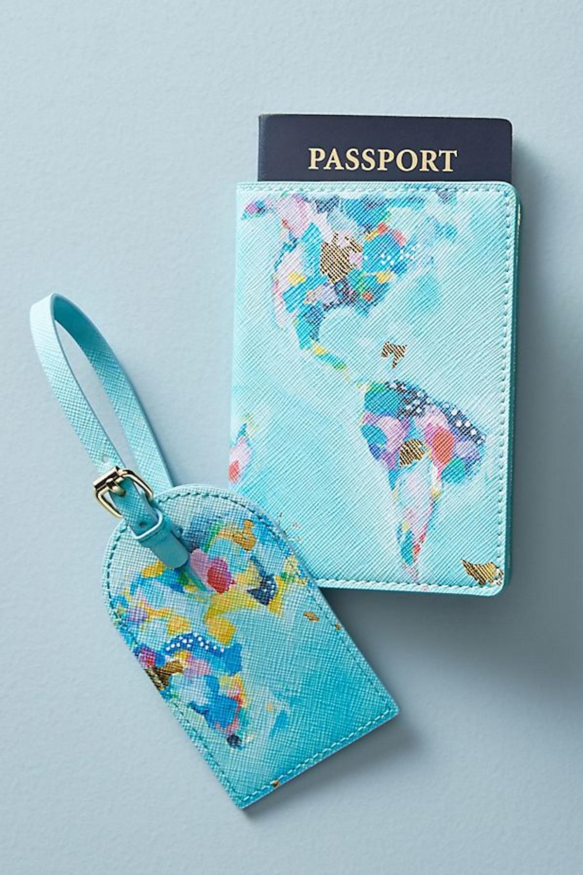 Nikki Cade Map Maker Passport Holder