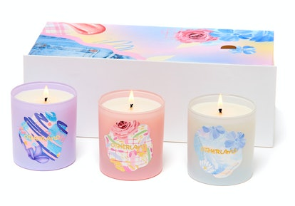 Otherland's New Carefree 90s Candle Collection: Blue Jean Baby, Dreamlight, and Glosspop