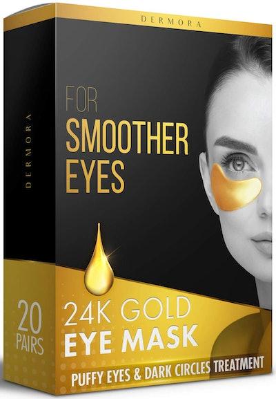Dermora-24K Gold Eye Mask