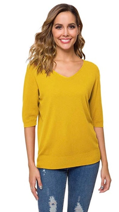 DAIMIDY Super Soft Cashmere Blend Sweater