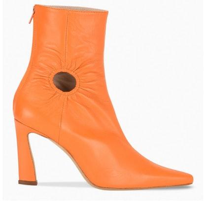 Orange Forywindow Boots