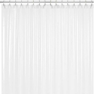 LiBa Mildew Resistant Anti-Microbial Shower Curtain Liner