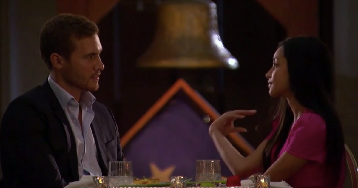 Peter & Victoria F.'s One-On-One 'Bachelor' Date Was SO Awkward, Even For This Show
