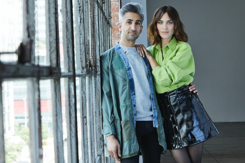 Tan France and Alexa Chung for Next in Fashion