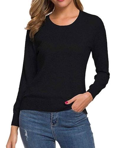 SANGTREE Women's Cashmere Blend Sweater