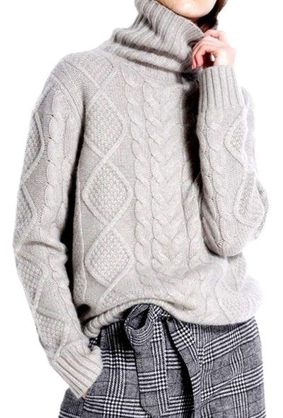 Ailaile Cashmere Wool Sweater