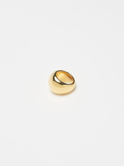 Large Gold Orb Ring