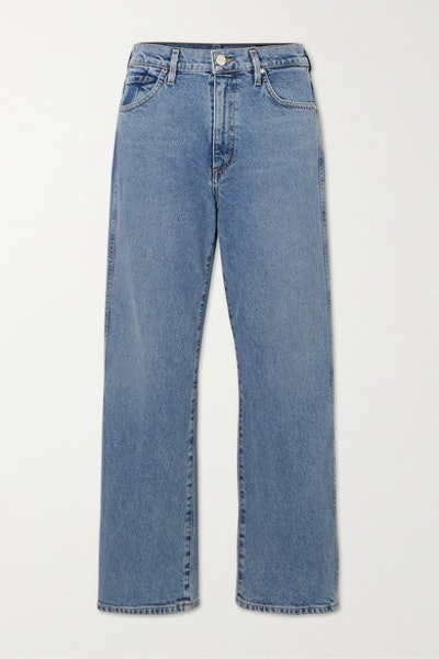 Cropped A High-Rise Jeans