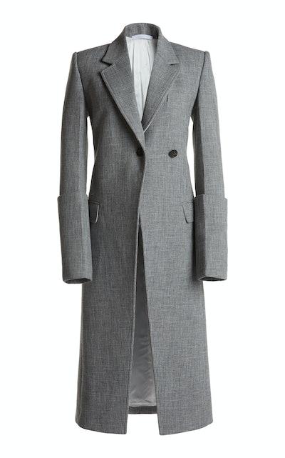 Cuffed Fitted Coat