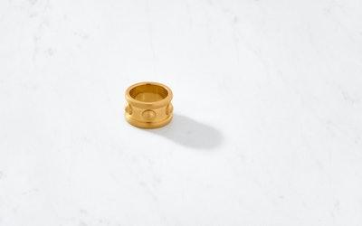 Byzantium 24K Ring Satin