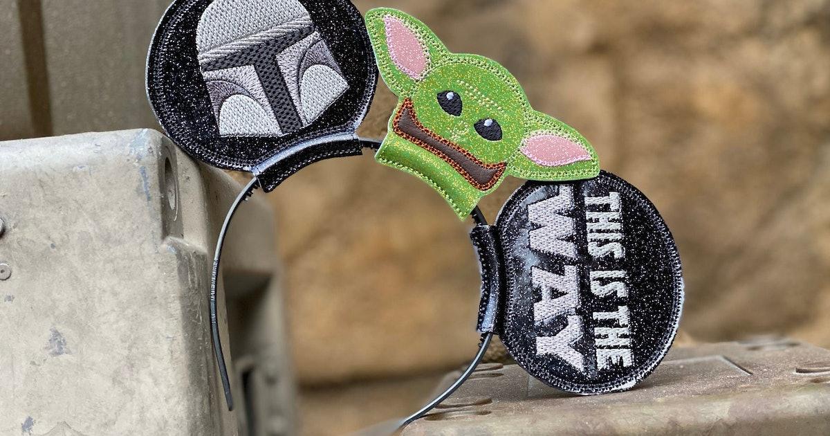 Baby Yoda Mickey Ears Are *The Way* To Do Disney