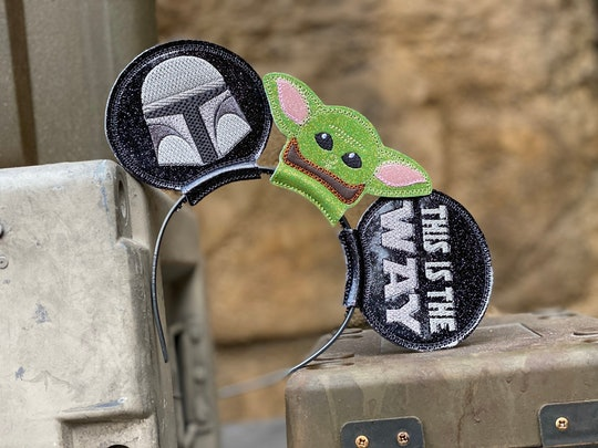 Every 'Star Wars' fan needs a pair of Baby Yoda Mickey ears for their next Disney trip.