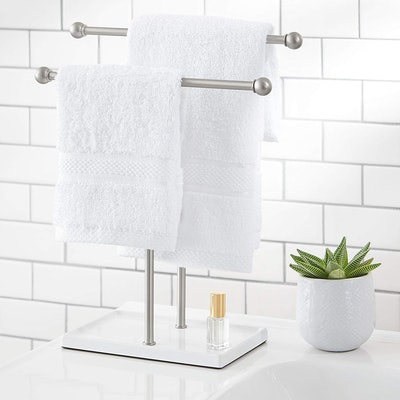 AmazonBasics Double-T Hand Towel Holder