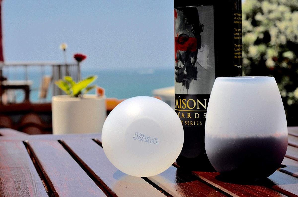 Jokel Unbreakable Silicone Wine Glasses (Set of 4)
