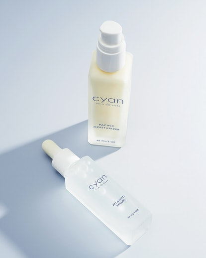 This new skincare brand Cyan wants to clean up the beauty industry, one recyclable bottle at a time.