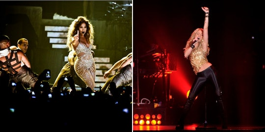 Although they traditionally pull in millions on tour, J Lo and Shakira won't get paid for their Supe...