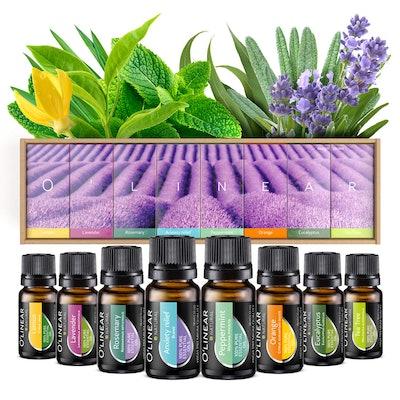 O'linear Essential Oils (8-Pack)