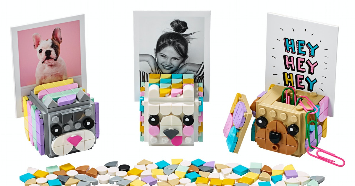 The New LEGO Dots Are A Fun Innovation For Kids Who Like To Build