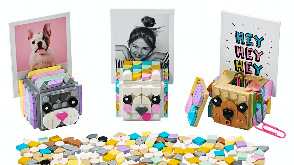 New two dimensional Lego dots toys