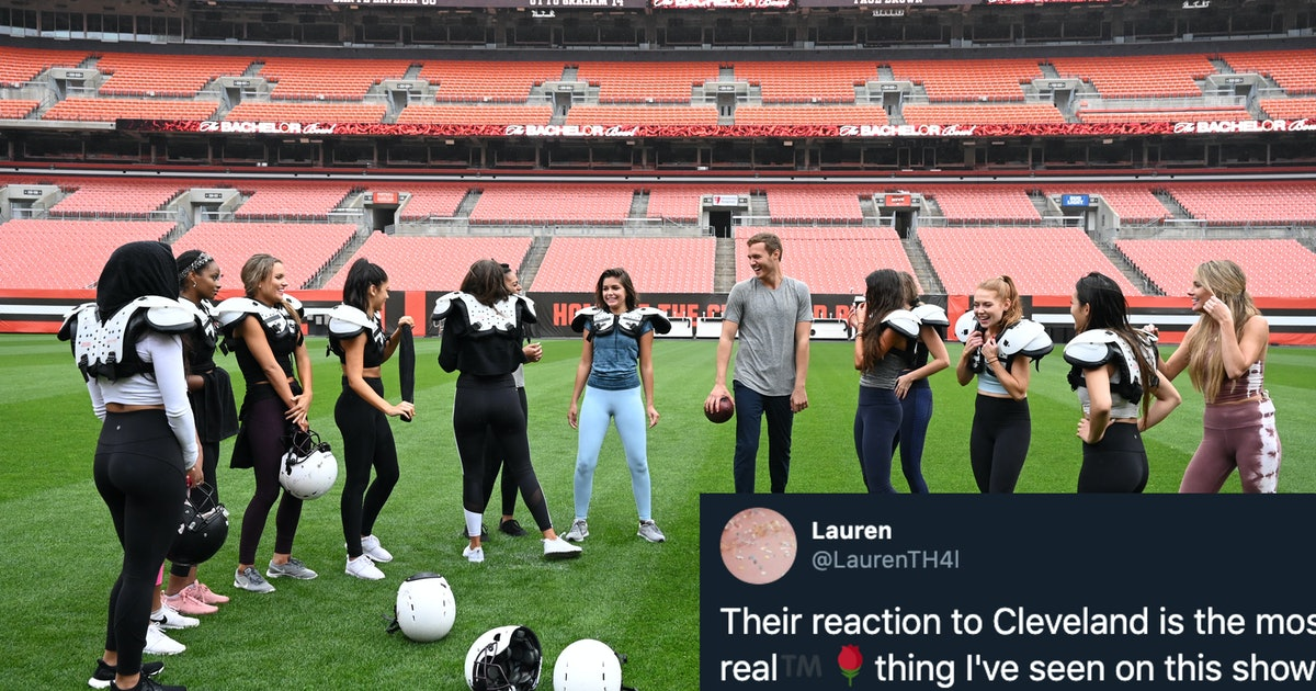 These Tweets About Peter's 'Bachelor' Cast Going To Cleveland Are Hilarious