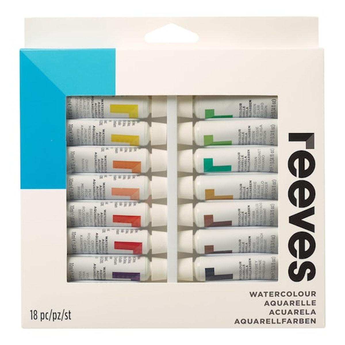 Reeves™ Watercolor Paint, Set of 18