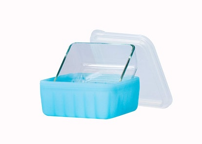 Plastic-Free Glass and Silicone Food Container