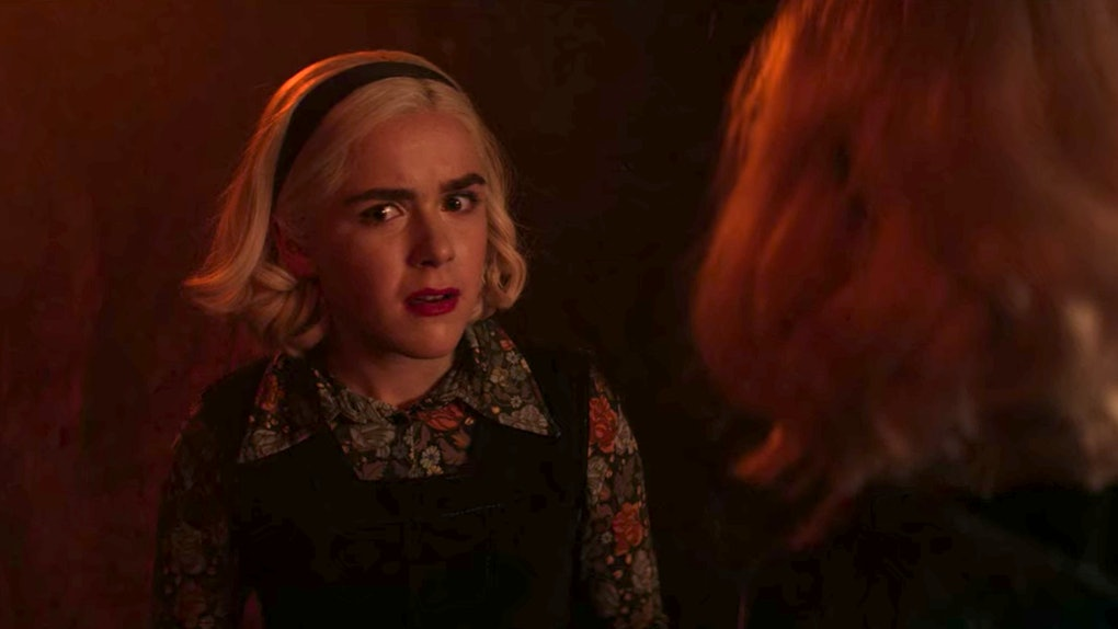 'Chilling Adventures of Sabrina' Part 3 ended with two Sabrinas existing at once.