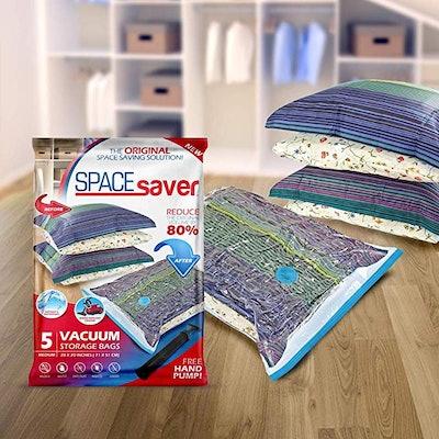 SpaceSaver Premium Vacuum Storage Bags (5-Pack)