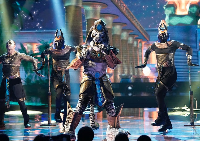 The White Tiger in The Masked Singer Season 3.