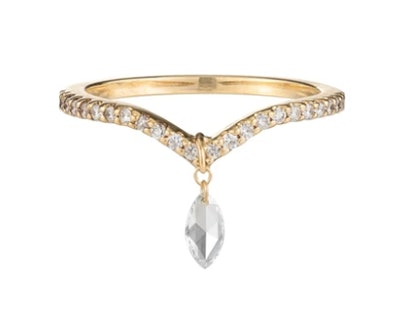 Marquise Pavé Ring