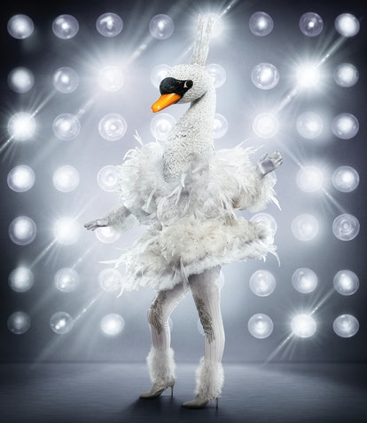 The Swan in The Masked Singer Season 3.