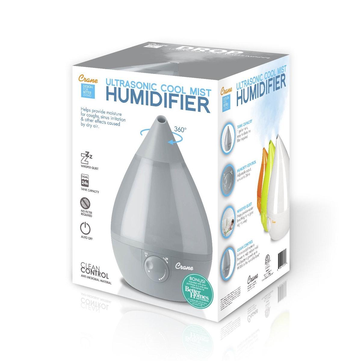 Ultrasonic Cool Mist Humidifier, Filter-Free
