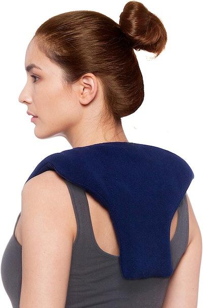 Sunny Bay Microwave Shoulder & Upper Back Heating Wrap