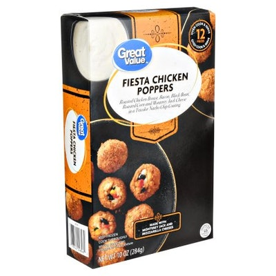 Great Value Frozen Fiesta Chicken Poppers