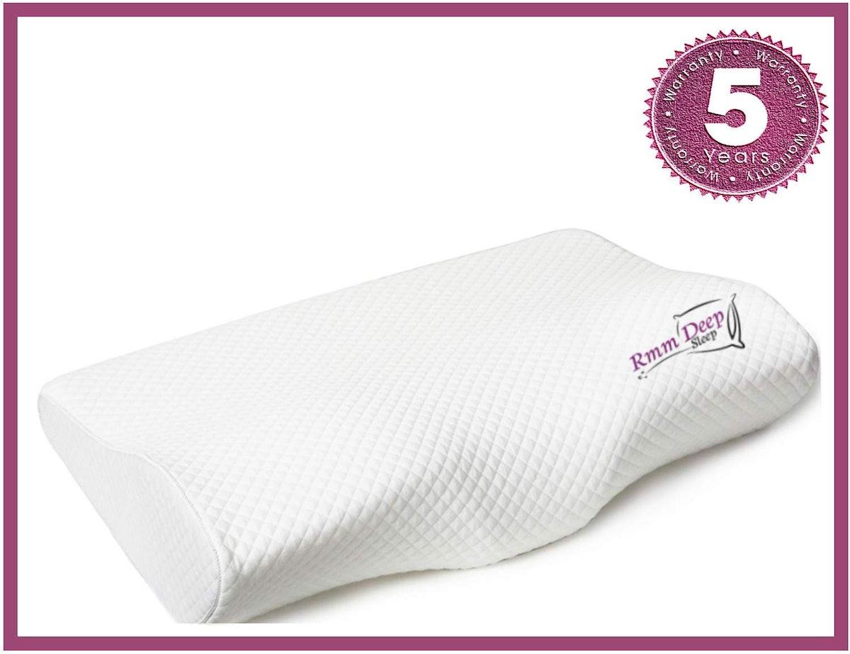 RMM Deep Sleep Contour Memory Foam Pillow