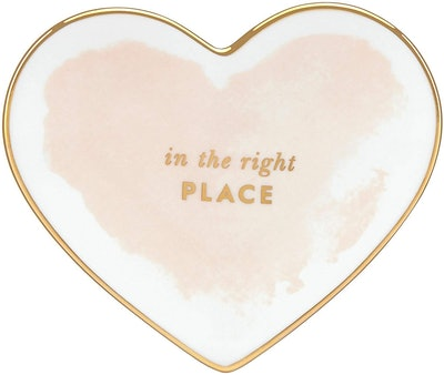 Kate Spade New York Posy Court Small Heart Dish - Blush