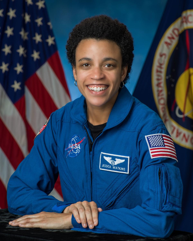 Astronaut Jessica Watkins' NASA headshot