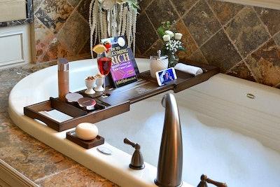 ROYAL CRAFT WOOD Bamboo Bathtub Tray