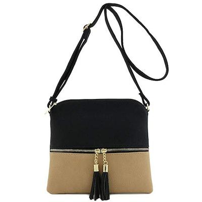 DELUXITY Crossbody Bag with Tassel