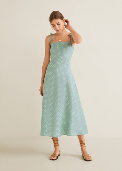 Linen Strap Dress