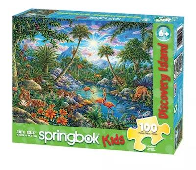 Springbok Discovery Island Puzzle