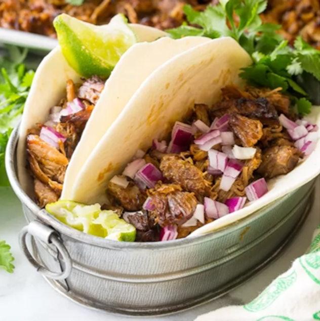 Instant Pot Perfect Carnitas is a great Super Bowl appetizer.