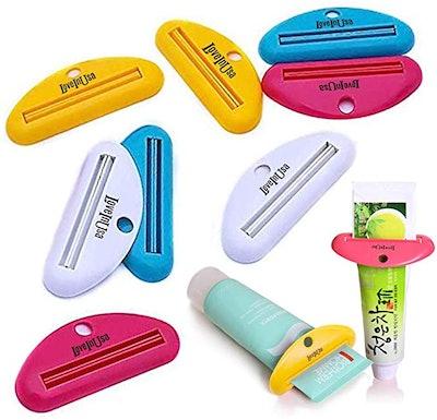 LoveInUSA Toothpaste Tube Squeezer Dispenser