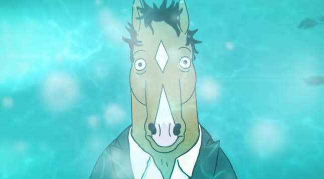 BoJack (voiced by Will Arnett) in BoJack Horseman
