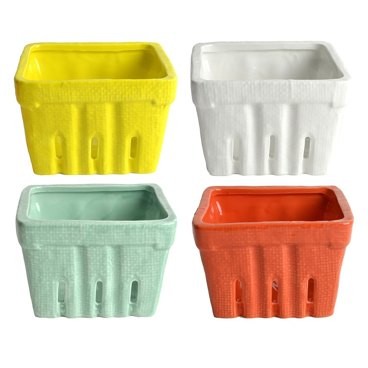 Creative Co-op Stoneware Berry Baskets