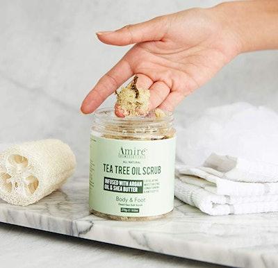 FFN Tea Tree Oil Exfoliating Body and Foot Scrub