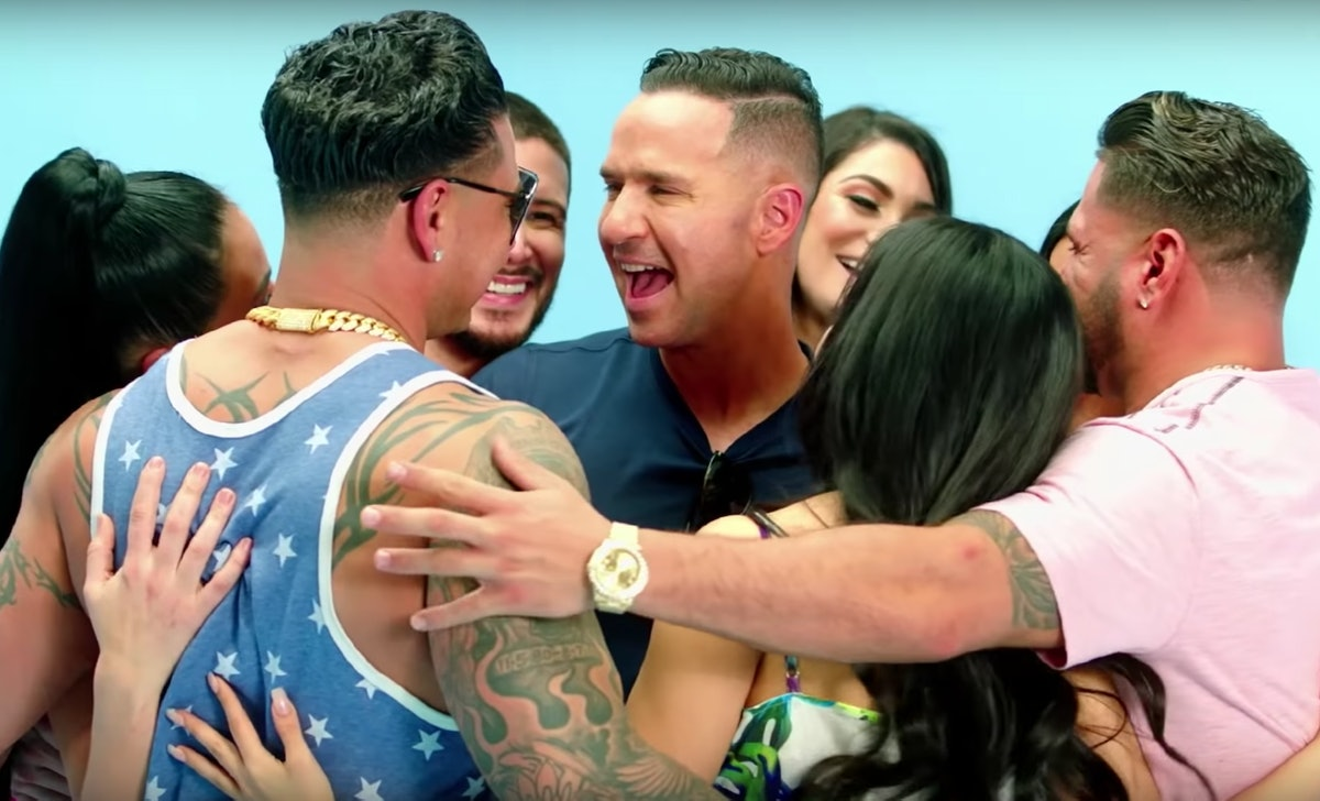"""Mike """"The Situation"""" Sorrentino reunited with his 'Jersey Shore' castmates in a new promo teaser."""